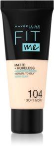 Maybelline Fit Me! Matte+Poreless matující make-up pro normální a mastnou pleť