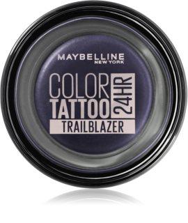 Maybelline Color Tattoo gelové oční stíny