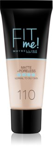 Maybelline Fit Me! Matte+Poreless zmatňujúci make-up pre normálnu až mastnú pleť