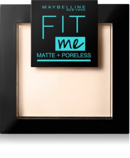 Maybelline Fit Me! Matte+Poreless mattierendes Puder