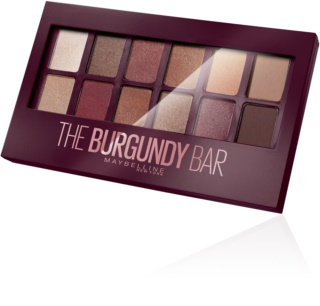 Maybelline The Burgundy Bar oogschaduw palette