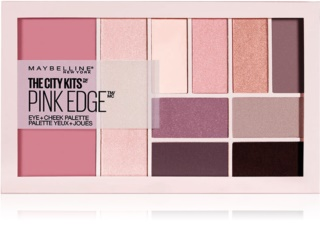 Maybelline The City Kits™ Pink Edge multifunkcionalna paleta za lice i oči