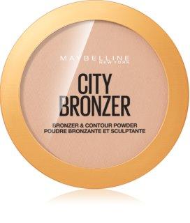Maybelline City Bronzer bronzer a kontúrovací púder