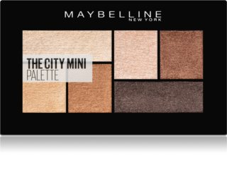 Maybelline The City Mini Palette paletka očných tieňov