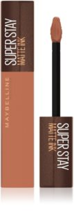 Maybelline SuperStay Matte Ink Coffee Edition ruj lichid mat