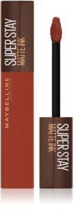 Maybelline SuperStay Matte Ink Coffee Edition ruj lichid mat