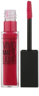 Maybelline Color Sensational Vivid Matte Liquid Flytande läppstift  med matt effekt