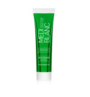 MEDIBLANC Whitening Herbal Herbal Toothpaste with Whitening Effect