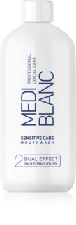 MEDIBLANC Sensitive Care elixir bocal para dentes e gengivas sensíveis