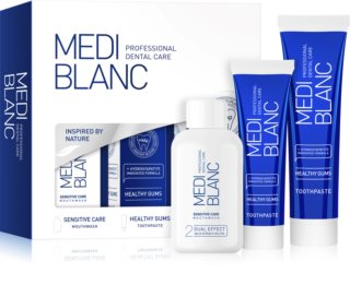 MEDIBLANC Sensitive Care conjunto de cuidado dental