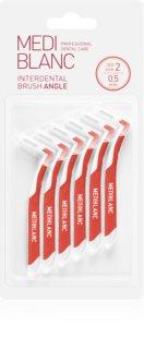 MEDIBLANC Interdental Brush Angle medzizubná kefka 6 ks