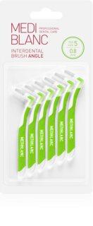 MEDIBLANC Interdental Brush L shape brossette interdentaire 6 pcs