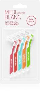 MEDIBLANC Interdental Brush L shape brossette interdentaire 5 pcs