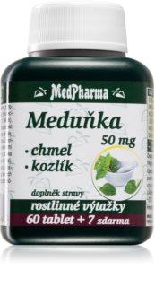 MedPharma Meduňka + chmel + kozlík příznivý účinek na srdce a cévy