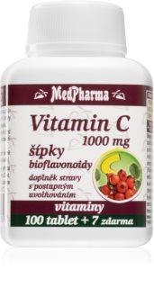 MedPharma Vitamin C 1000 mg s šípky doplněk stravy pro podporu imunity