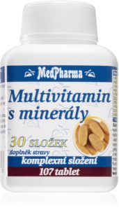 MedPharma Multivitamin s minerály 30 složek komplex vitaminů a minerálů