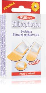 WUNDmed Náplast antibakteriální se stříbrem antibakterální náplasti
