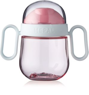 Mepal Mio Pink training cup with handles 6m+