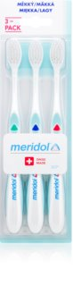 Meridol Gum Protection Toothbrushes, 3 pcs Soft
