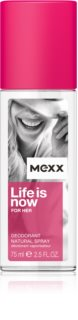 Mexx Life is Now  for Her dezodorans u spreju za žene