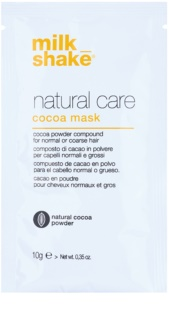 Milk Shake Natural Care Cocoa Regenerating Hair Mask With Chocolate