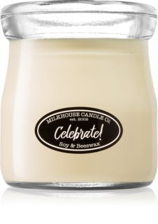 Milkhouse Candle Co. Creamery Celebrate! bougie parfumée Cream Jar