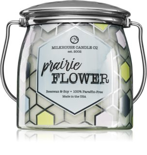Milkhouse Candle Co. Creamery Prairie Flower geurkaars Butter Jar