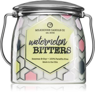 Milkhouse Candle Co. Creamery Watermelon Bitters αρωματικό κερί Butter Jar
