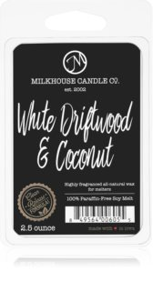 Milkhouse Candle Co. Creamery White Driftwood & Coconut восък за арома-лампа