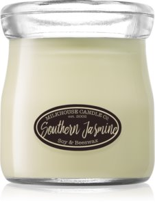 Milkhouse Candle Co. Creamery Southern Jasmine illatos gyertya  Cream Jar