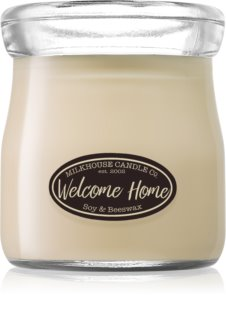 Milkhouse Candle Co. Creamery Welcome Home mirisna svijeća Cream Jar
