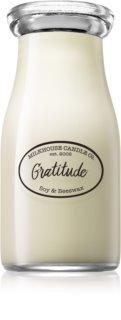 Milkhouse Candle Co. Creamery Gratitude vela perfumada Milkbottle