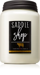 Milkhouse Candle Co. Farmhouse Saddle Shop mirisna svijeća Mason Jar