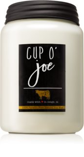 Milkhouse Candle Co. Farmhouse Cup O' Joe doftljus Mason Jar