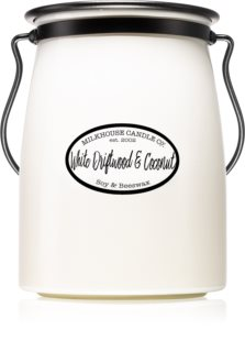 Milkhouse Candle Co. Creamery White Driftwood & Coconut illatos gyertya  Butter Jar
