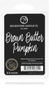 Milkhouse Candle Co. Creamery Brown Butter Pumpkin восък за арома-лампа