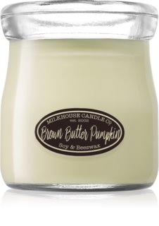 Milkhouse Candle Co. Creamery Brown Butter Pumpkin bougie parfumée Cream Jar