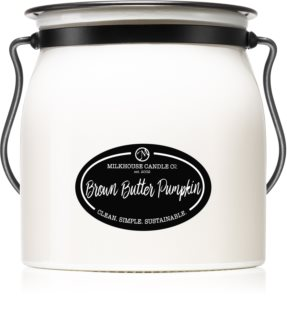 Milkhouse Candle Co. Creamery Brown Butter Pumpkin candela profumata Butter Jar