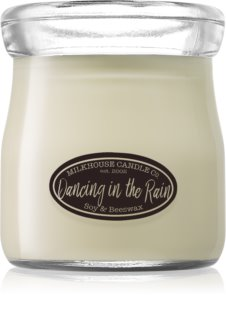 Milkhouse Candle Co. Creamery Dancing in the Rain dišeča sveča  Cream Jar