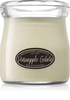 Milkhouse Candle Co. Creamery Pineapple Gelato illatos gyertya  Cream Jar