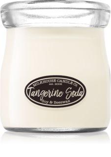 Milkhouse Candle Co. Creamery Tangerine Soda  duftkerze  Cream Jar