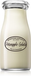 Milkhouse Candle Co. Creamery Pineapple Gelato bougie parfumée Milkbottle