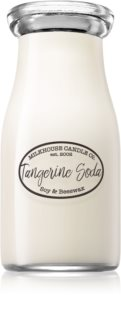 Milkhouse Candle Co. Creamery Tangerine Soda  duftkerze  Milkbottle