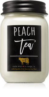 Milkhouse Candle Co. Farmhouse Peach Tea illatos gyertya