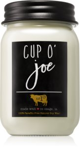 Milkhouse Candle Co. Farmhouse Cup O' Joe αρωματικό κερί Mason Jar