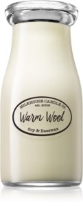Milkhouse Candle Co. Creamery Warm Wool mirisna svijeća Milkbottle