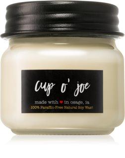 Milkhouse Candle Co. Farmhouse Cup O' Joe αρωματικό κερί Mason Jar