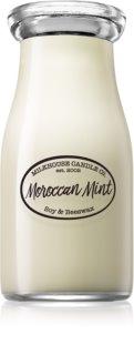 Milkhouse Candle Co. Creamery Moroccan Mint mirisna svijeća Milkbottle