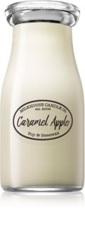 Milkhouse Candle Co. Creamery Caramel Apple vonná svíčka Milkbottle