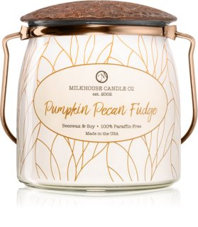 Milkhouse Candle Co. Creamery Pumpkin Pecan Fudge ароматическая свеча Butter Jar